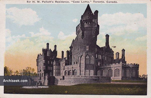 1911 – Casa Loma, Toronto, Ontario