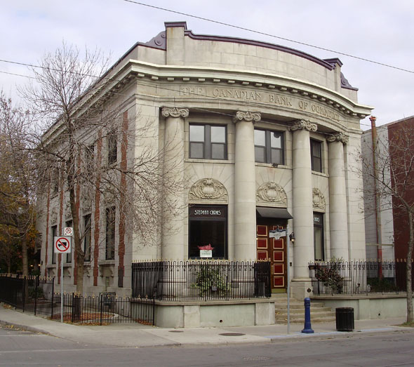 1905 &#8211; Former Canadian Bank of Commerce, Queen Street East, Toronto