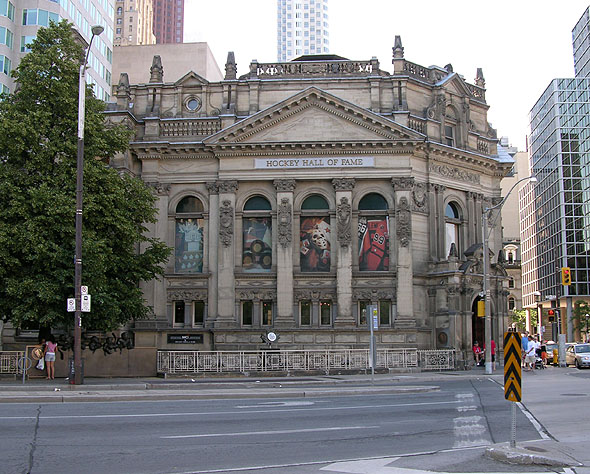 1886 – Hockey Hall of Fame (Former Bank of Montreal), Toronto, Ontario