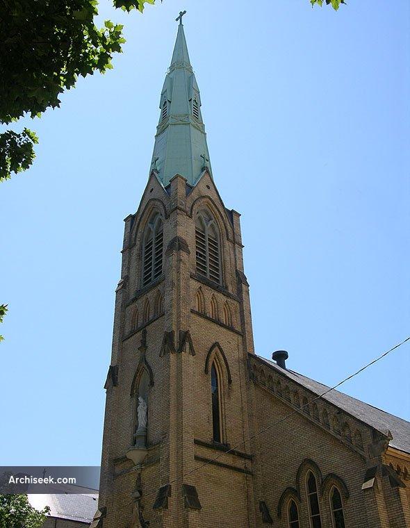 1870 – Our Lady of Mount Carmel Church, Toronto, Ontario