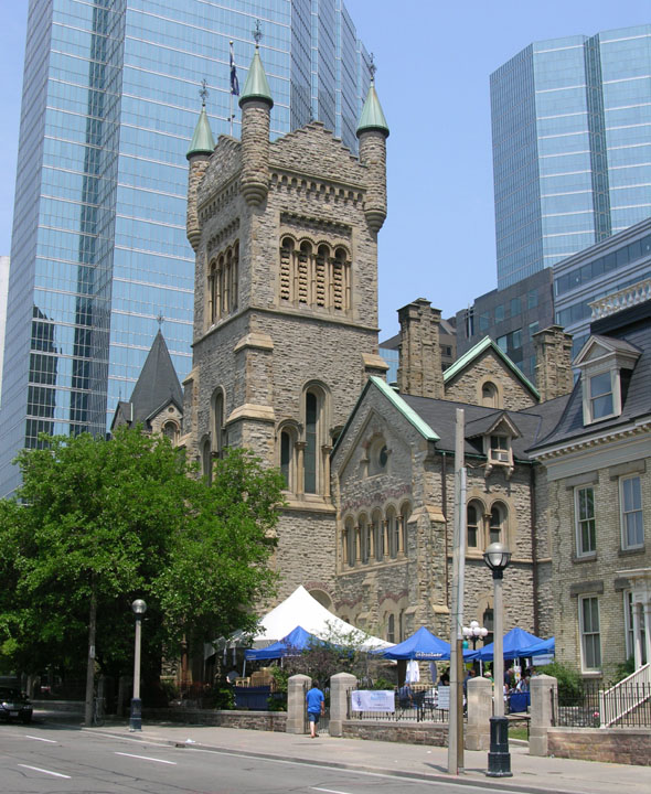 1876 &#8211; St Andrews Presbyterian Church, Toronto, Ontario