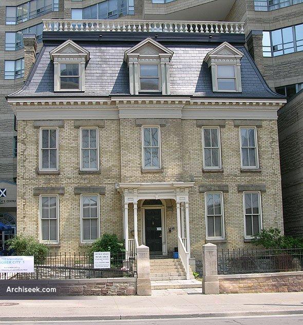 1873 – St Andrews Manse, Toronto, Ontario