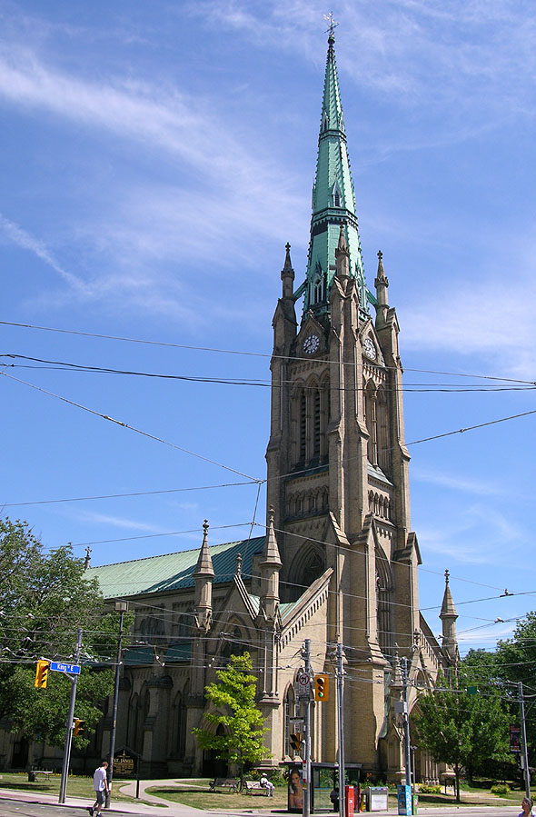 1844 &#8211; St. James&#8217; Cathedral, Toronto, Ontario