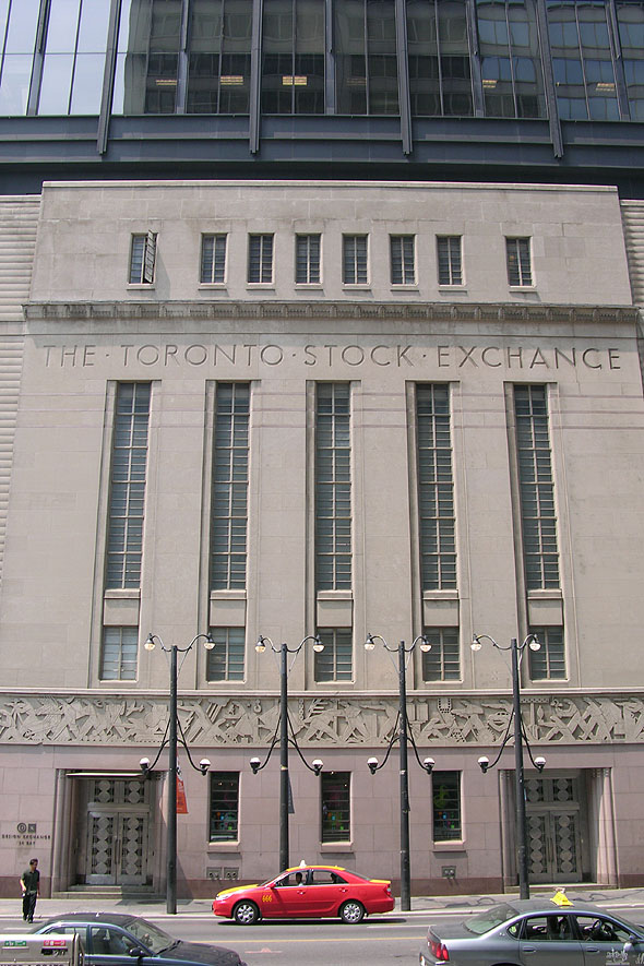 1937 – Toronto Stock Exchange, Toronto, Ontario