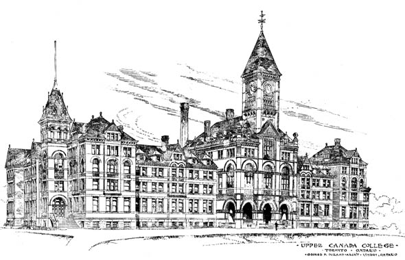 1889 &#8211; Upper Canada College, Toronto, Ontario