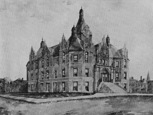 1900 – Stratford City Hall, Ontario