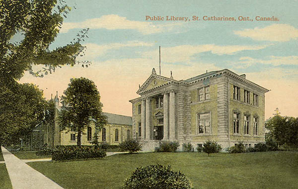 1905 – Public Library, St. Catharines, Ontario