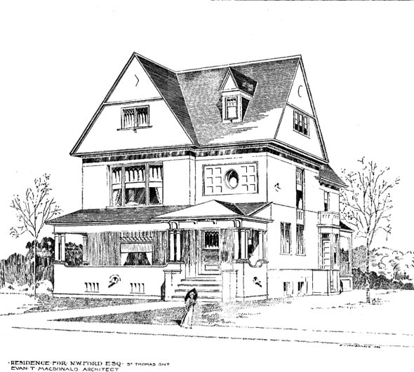 1897 &#8211; Residence, St. Thomas, Ontario