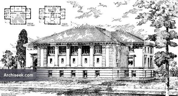 1902 – Carnegie Public Library, Windsor, Ontario