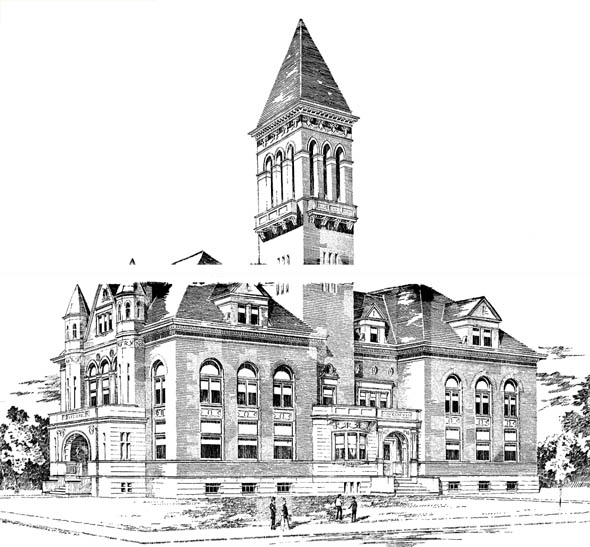 1897 &#8211; City Hall, St. Thomas, Ontario