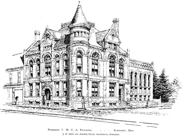 1891 – YMCA Building, Kingston, Ontario