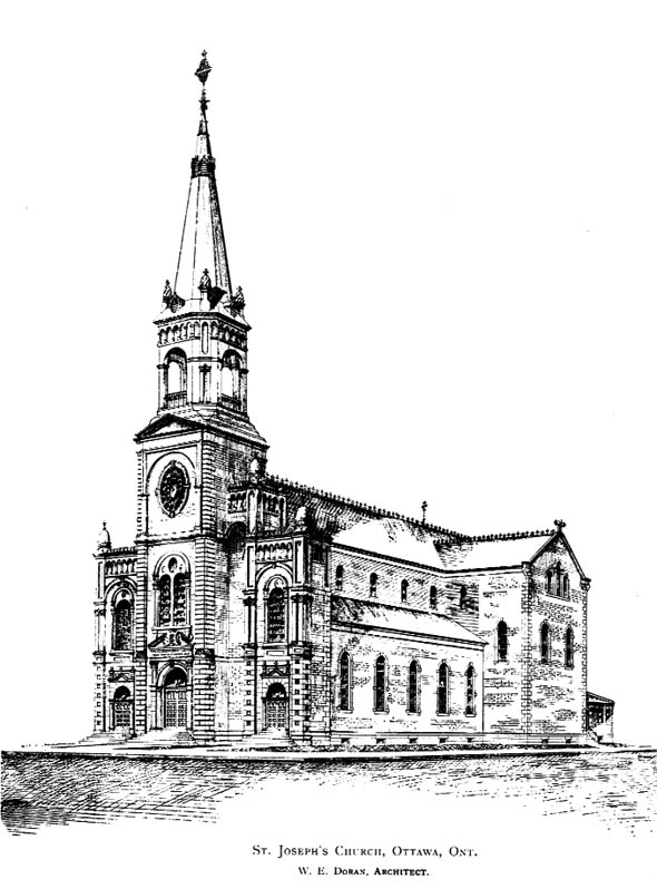 1893 &#8211; St. Joseph&#8217;s Church, Ottawa, Ontario