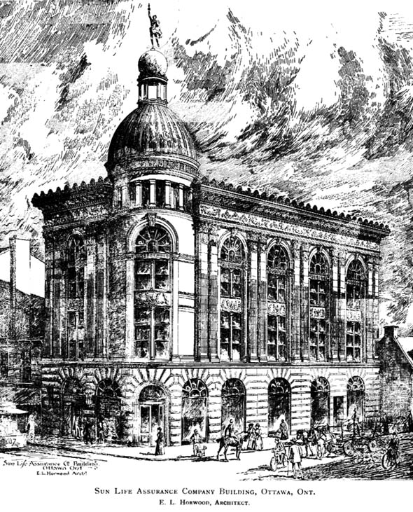 1897 &#8211; Sun Life Assurance, Ottawa, Ontario