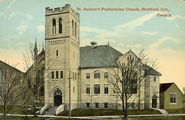 1911 – St. Andrew's Presbyterian Church, Stratford, Ontario