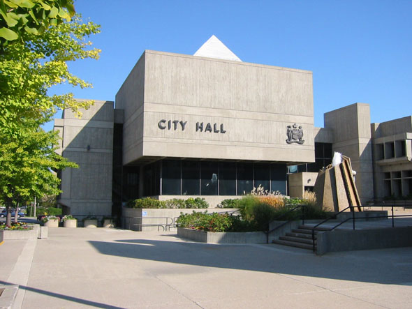 1967 – City Hall, Brantford, Ontario