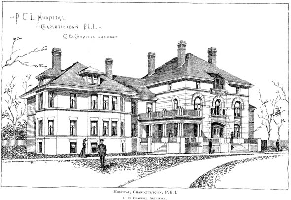 1898 &#8211; Hospital, Charlottetown, Prince Edward Island