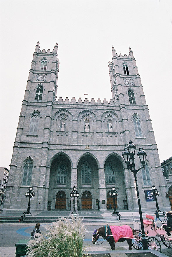 1888 &#8211; Basilique Notre-Dame de Montral, Montreal, Quebec