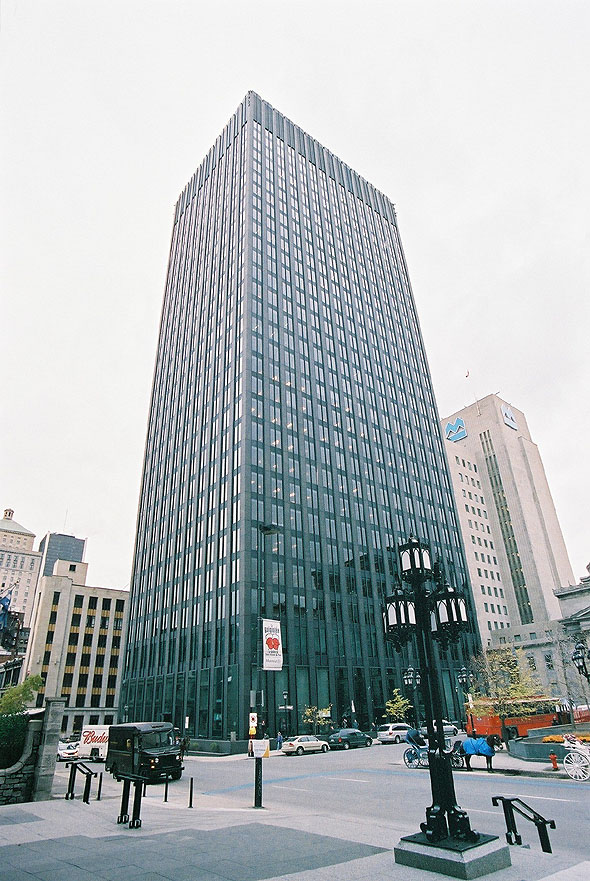 1967 – National Bank Tower, Montreal, Quebec