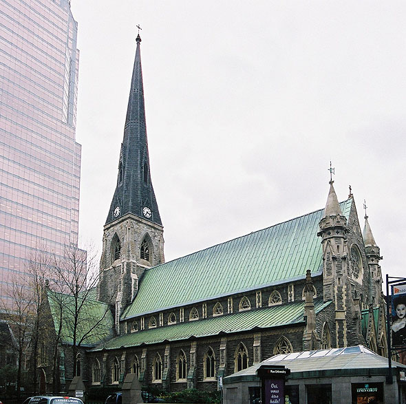 1859 &#8211; Christ Church Anglican Cathedral, Montreal, Quebec