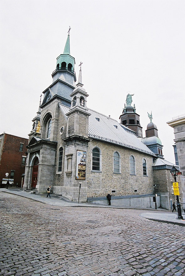 1882 &#8211; Notre-Dame-de-Bon-Secours Chapel, Montreal, Quebec