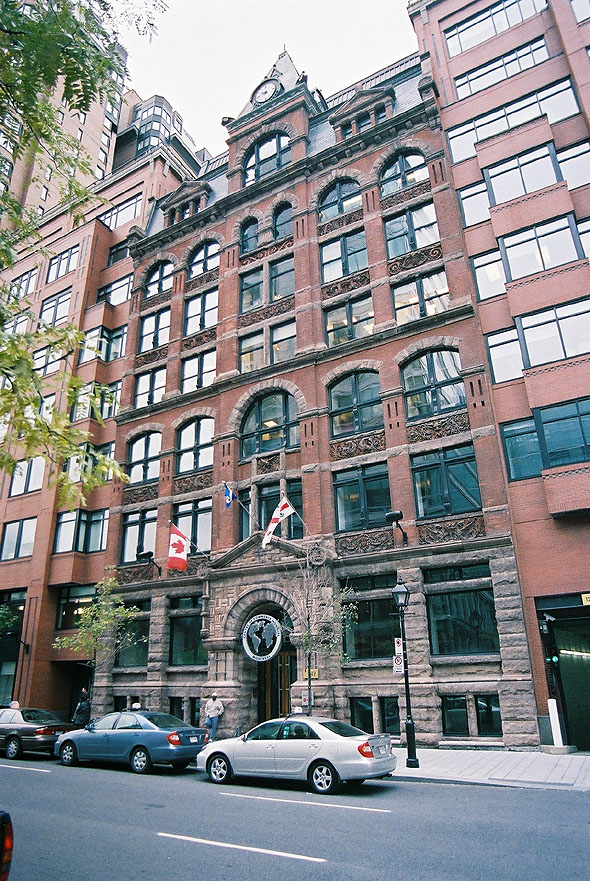 1882 &#8211; Nordheimer Building, Montreal, Quebec