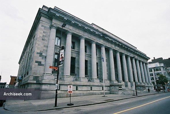 1926 – Ernest-Cormier Building, Montreal, Quebec
