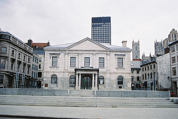 1836 &#8211; Custom House, Montreal, Quebec