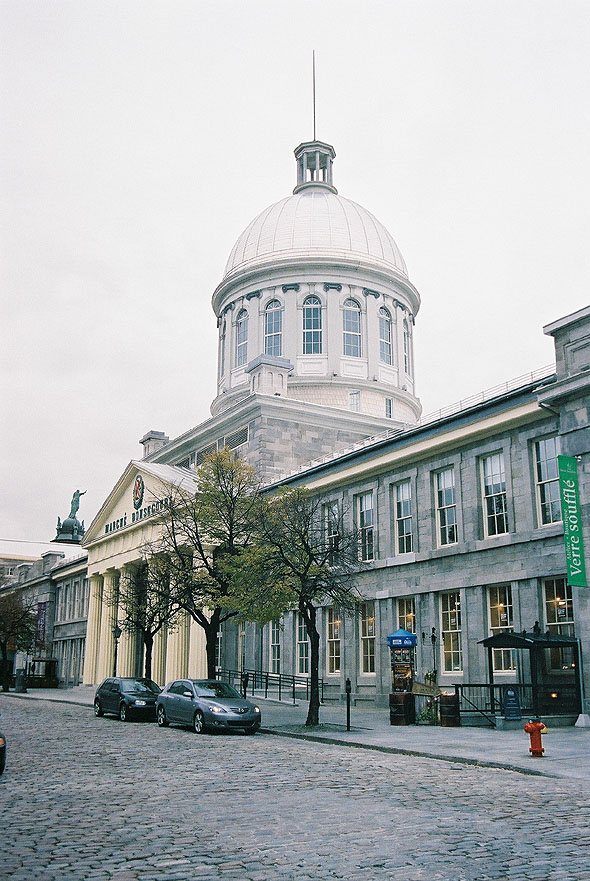 1829 &#8211; Marche Bonsecours, Montreal, Quebec