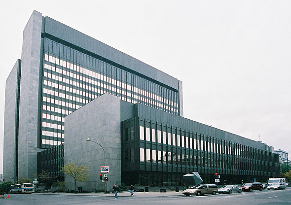 1971 &#8211; Palais de Justice, Montreal, Quebec