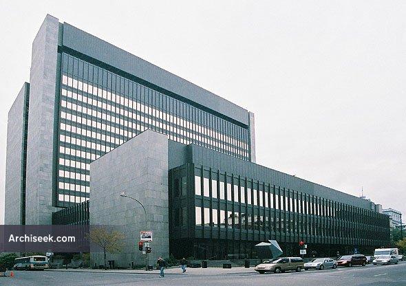 1971 – Palais de Justice, Montreal, Quebec