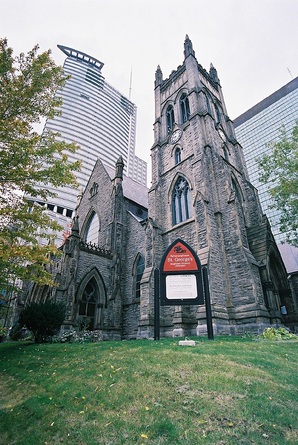 1870 &#8211; St George&#8217;s Anglican Church, Montreal, Quebec