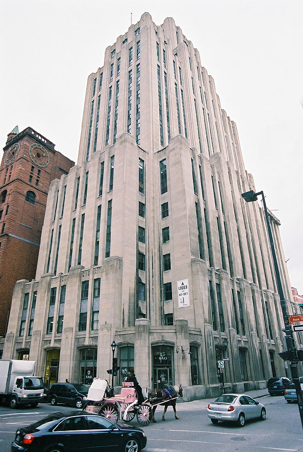 1931 &#8211; Aldred Building, Montreal, Quebec