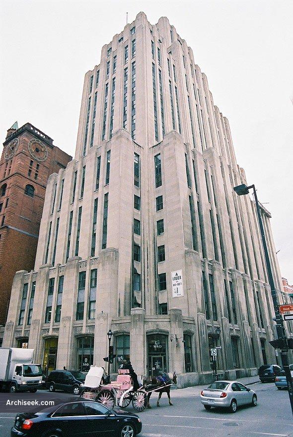 1931 – Aldred Building, Montreal, Quebec