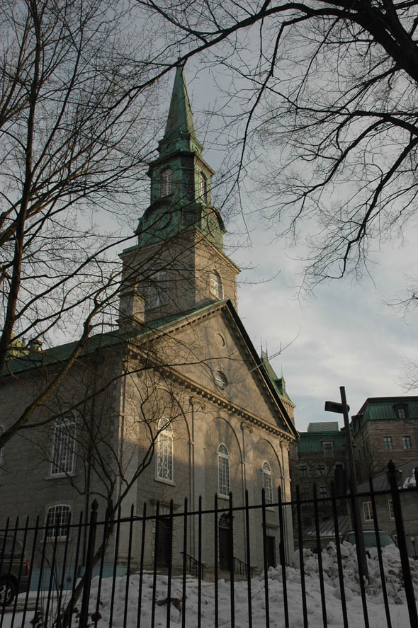 1804 &#8211; Holy Trinity Anglican Cathedral, Quebec City, Quebec