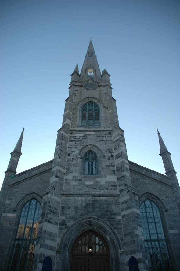 1852 chalmers wesley united church quebec city quebec for Architecture quebec