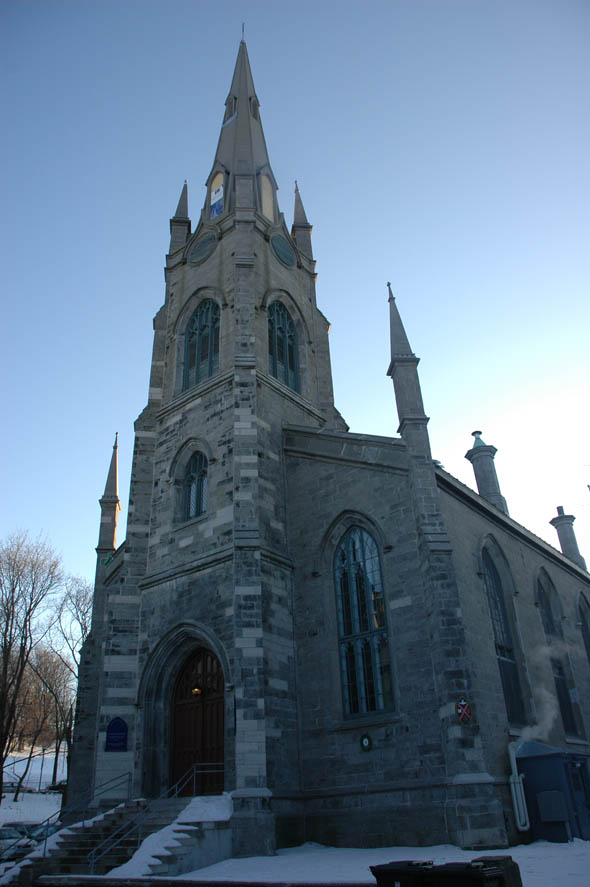 1852 – Chalmers-Wesley United Church, Quebec City, Quebec