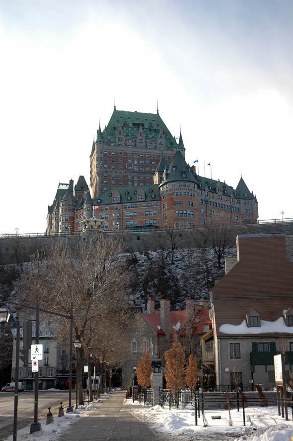 1893 – Chateau Frontenac, Quebec City, Quebec