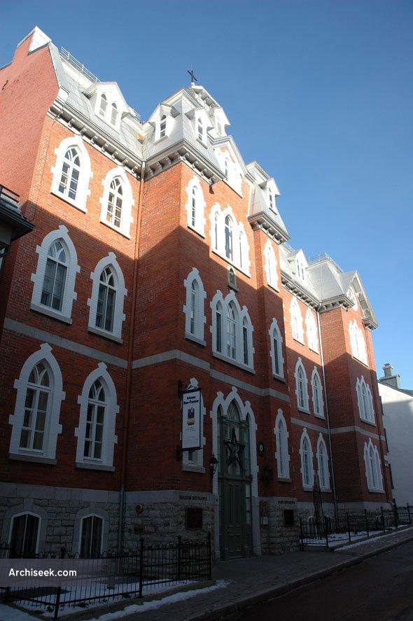 1876 – L'Hôpital de la Miséricorde, Quebec City, Quebec