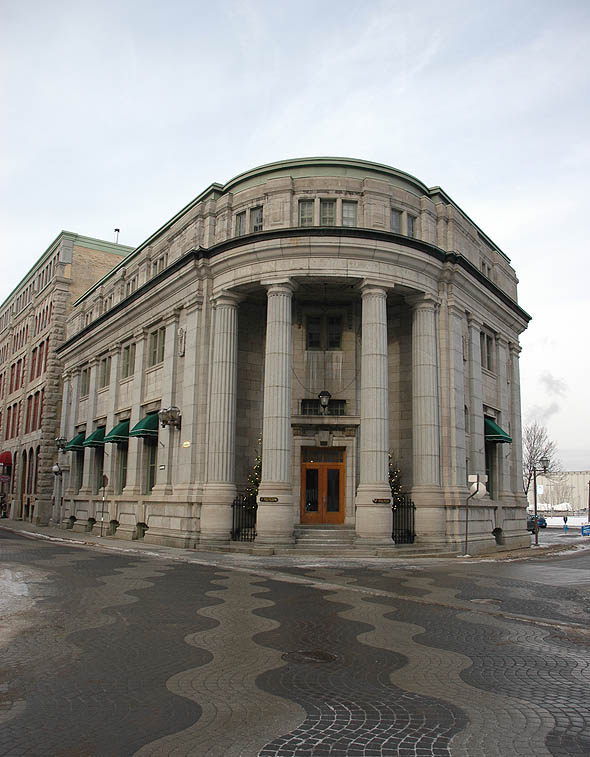 1914 &#8211; Former Bank, Quebec City, Quebec
