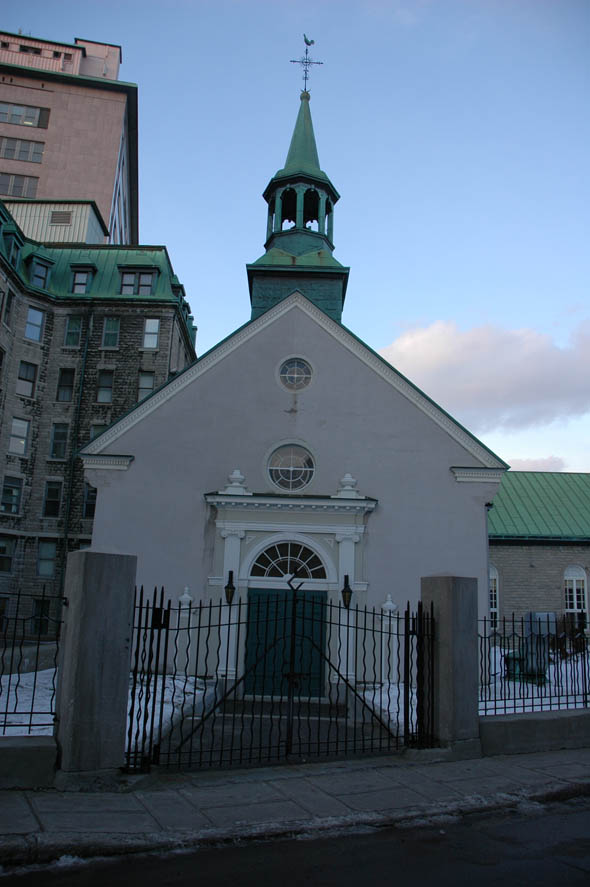 1803 &#8211; Hopital l&#8217;Hotel-Dieu Church, Quebec City, Quebec