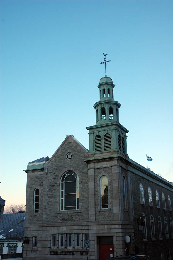 1817 – Jesuit Church, Quebec City, Quebec