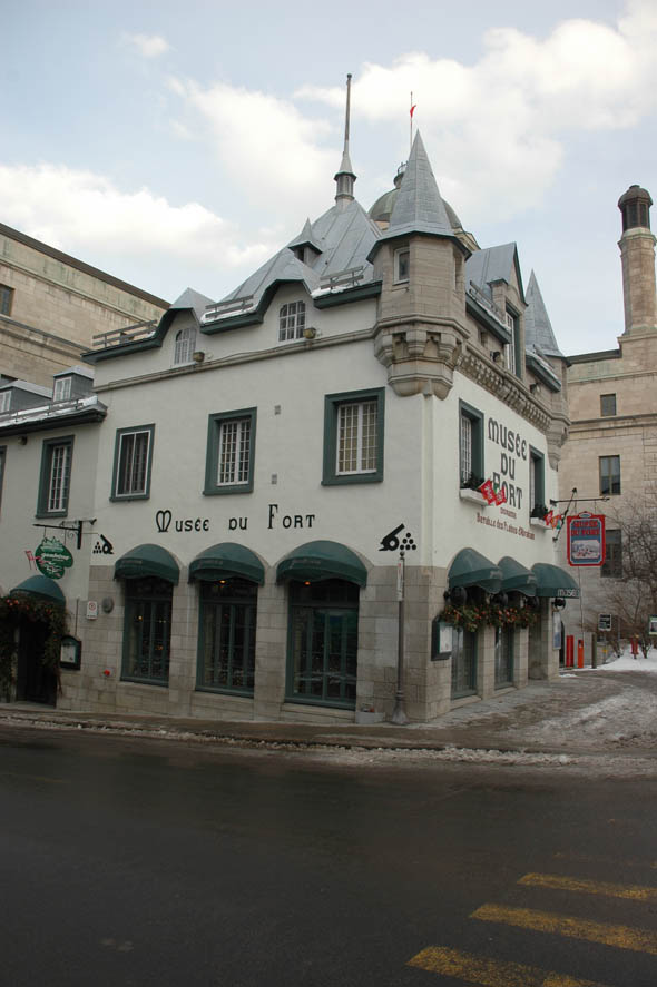 Musee de Fort, Quebec City, Quebec