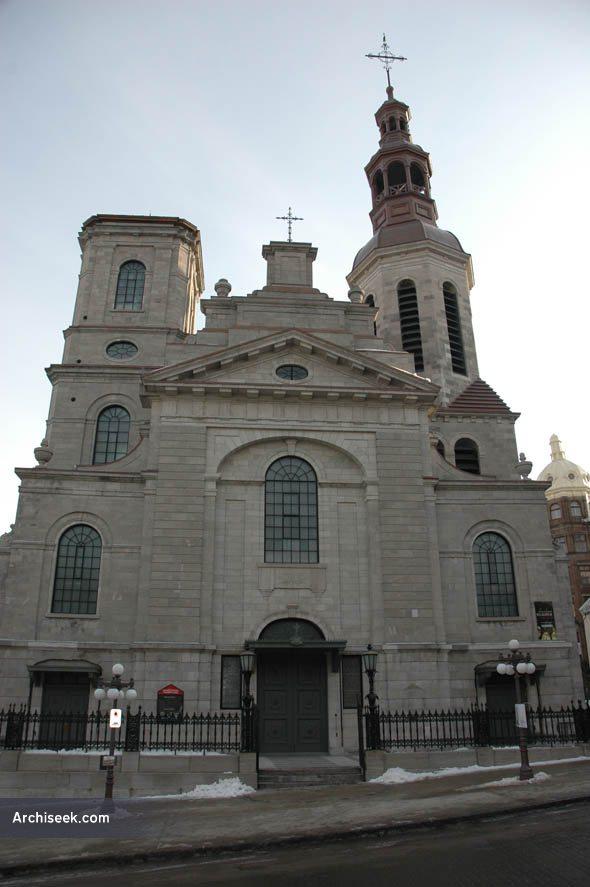 1822 – Notre Dame de Quebec Basilica, Quebec City, Quebec