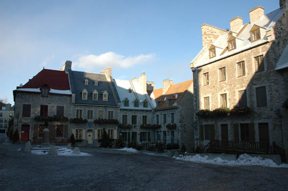 1688 &#8211; Place-Royale, Quebec City, Quebec