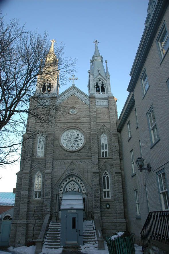 1910 – Notre-Dame-Du-Sacre-Couer Sanctuary, Quebec City, Quebec