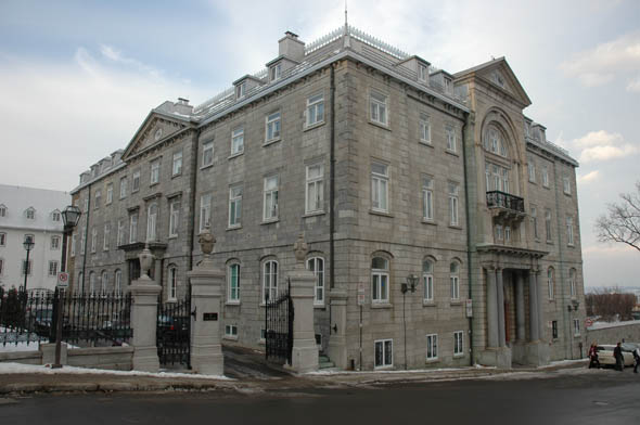 1847 – Archbishop's Residence, Quebec City, Quebec