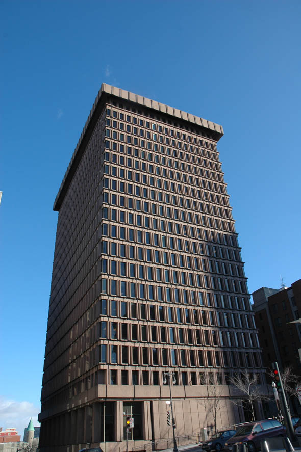 1969 – Édifice d'Youville, Quebec City, Quebec