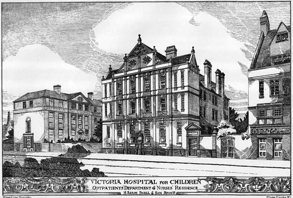 1885 – Victoria Hospital for Children, Montreal, Quebec