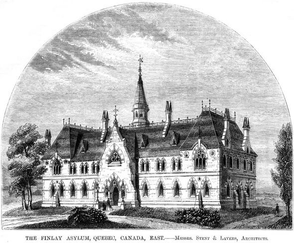 1860 &#8211; The Finlay Asylum, Quebec City