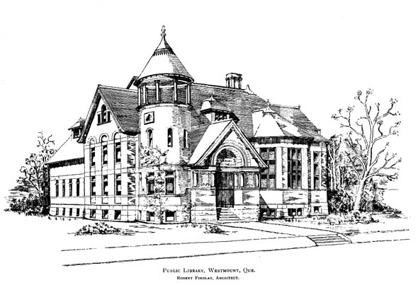 1899 &#8211; Public Library, Westmount, Montreal, Quebec